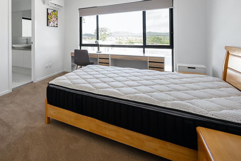 A Mattress On A Bed