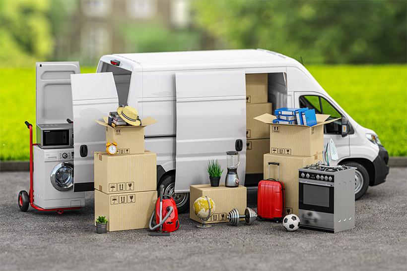 A Moving Van