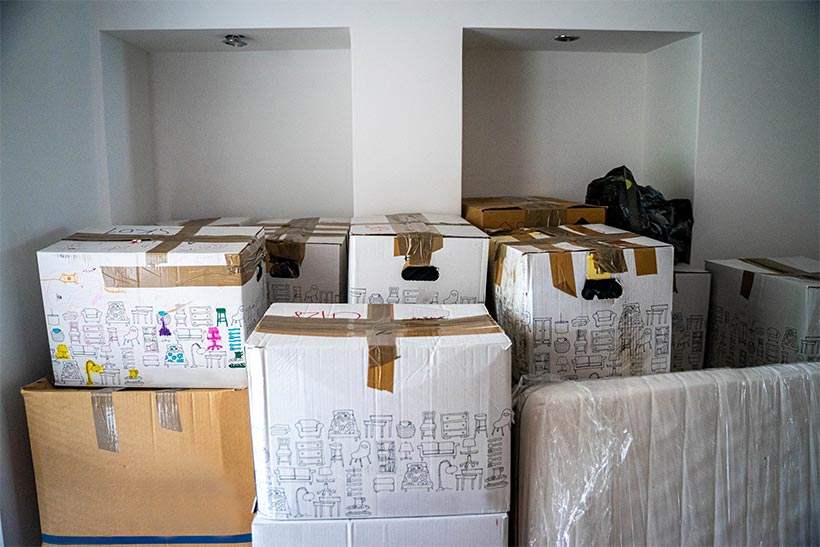 A Bunch Of Boxes