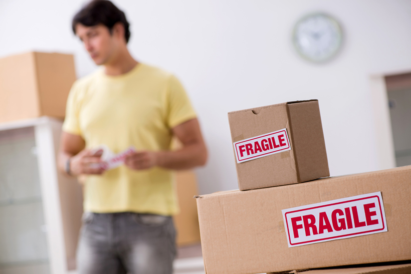 Packing Fragile Items Properly